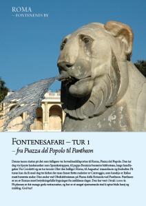 Fontenesafari, tur 1 - forside